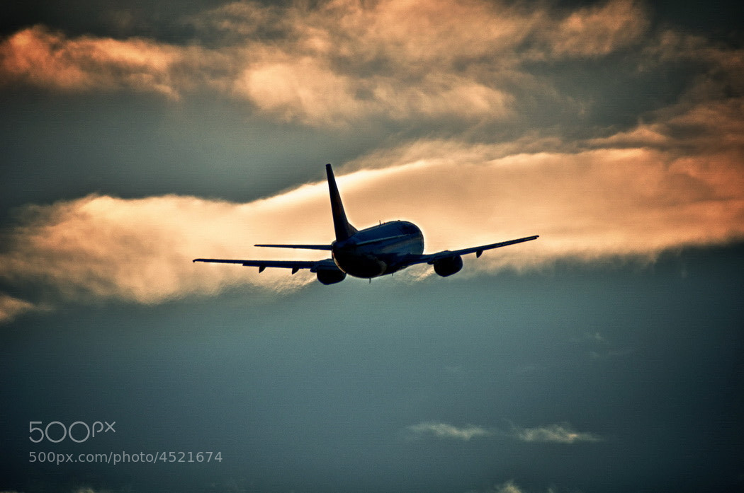 Photograph Boeing 737 (Lufthansa) - Take Off by Adrian Kraszewski on 500px