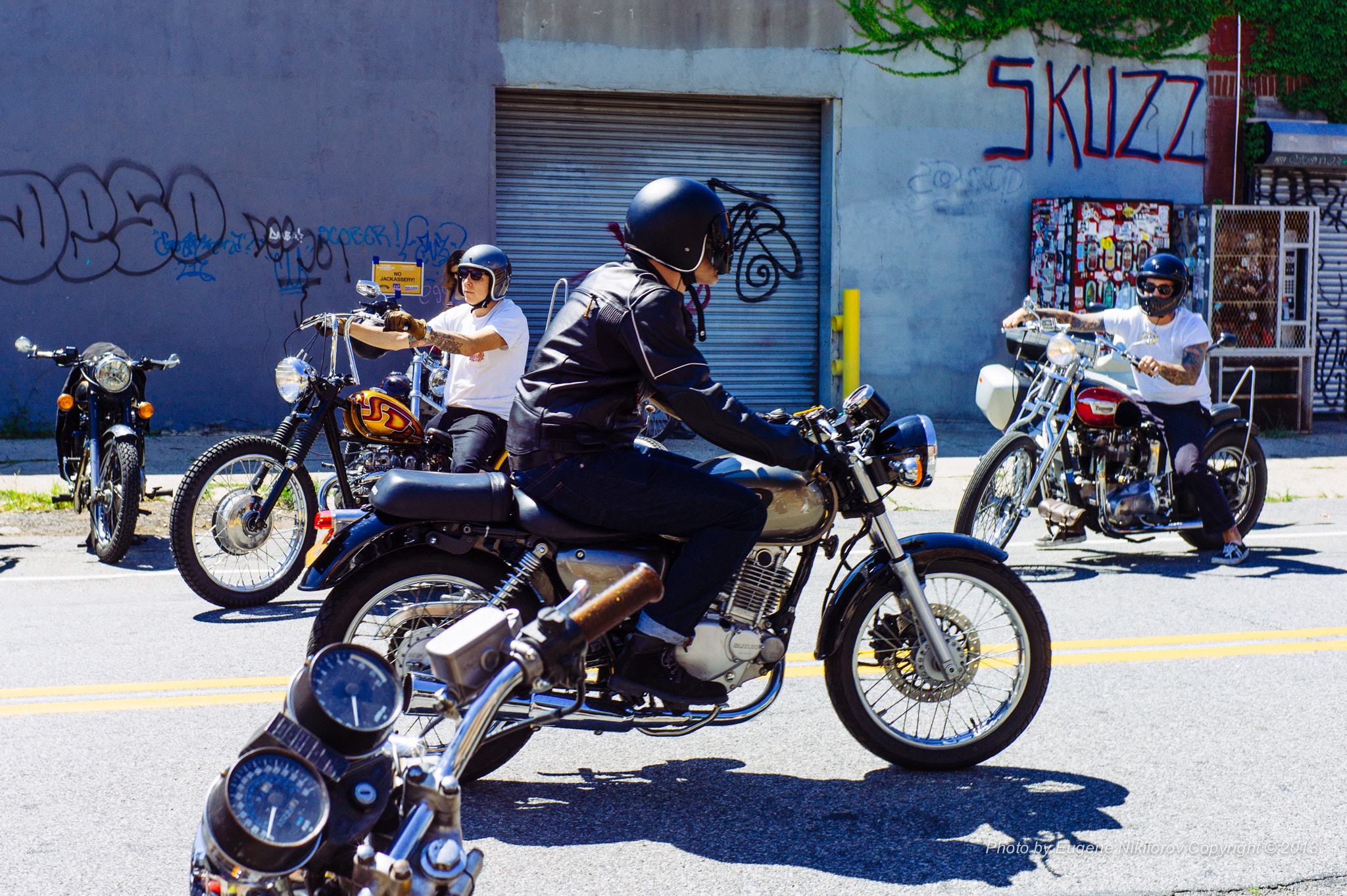 Photograph New York Vintage Motorcycle Show, Brooklyn by Eugene Nikiforov on 500px