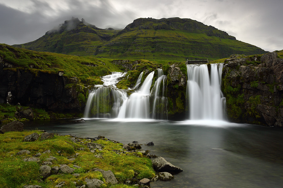 Photograph Kirkjufell waterfall by Christian Rey on 500px