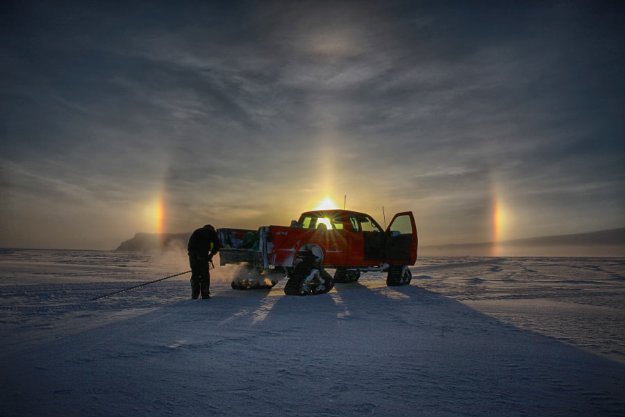 Photograph Sun Dogs On Ice by Deven Stross on 500px