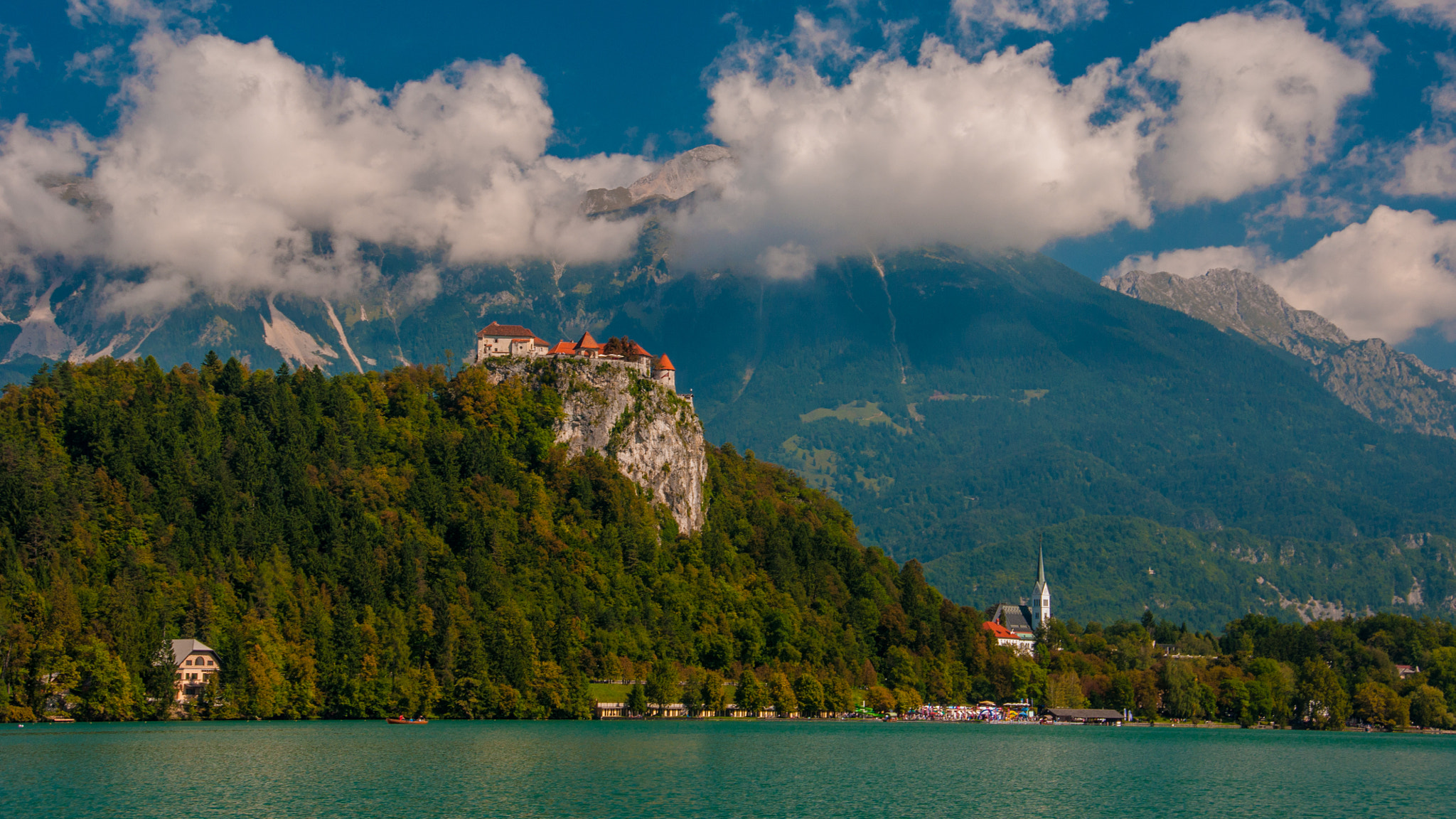 Photograph lake & castle (07) - Bled by Vlado Ferencic on 500px
