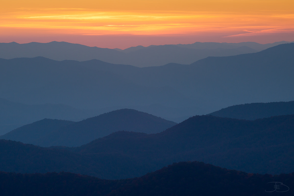 Photograph Blue Ridges by Joseph Balcken on 500px