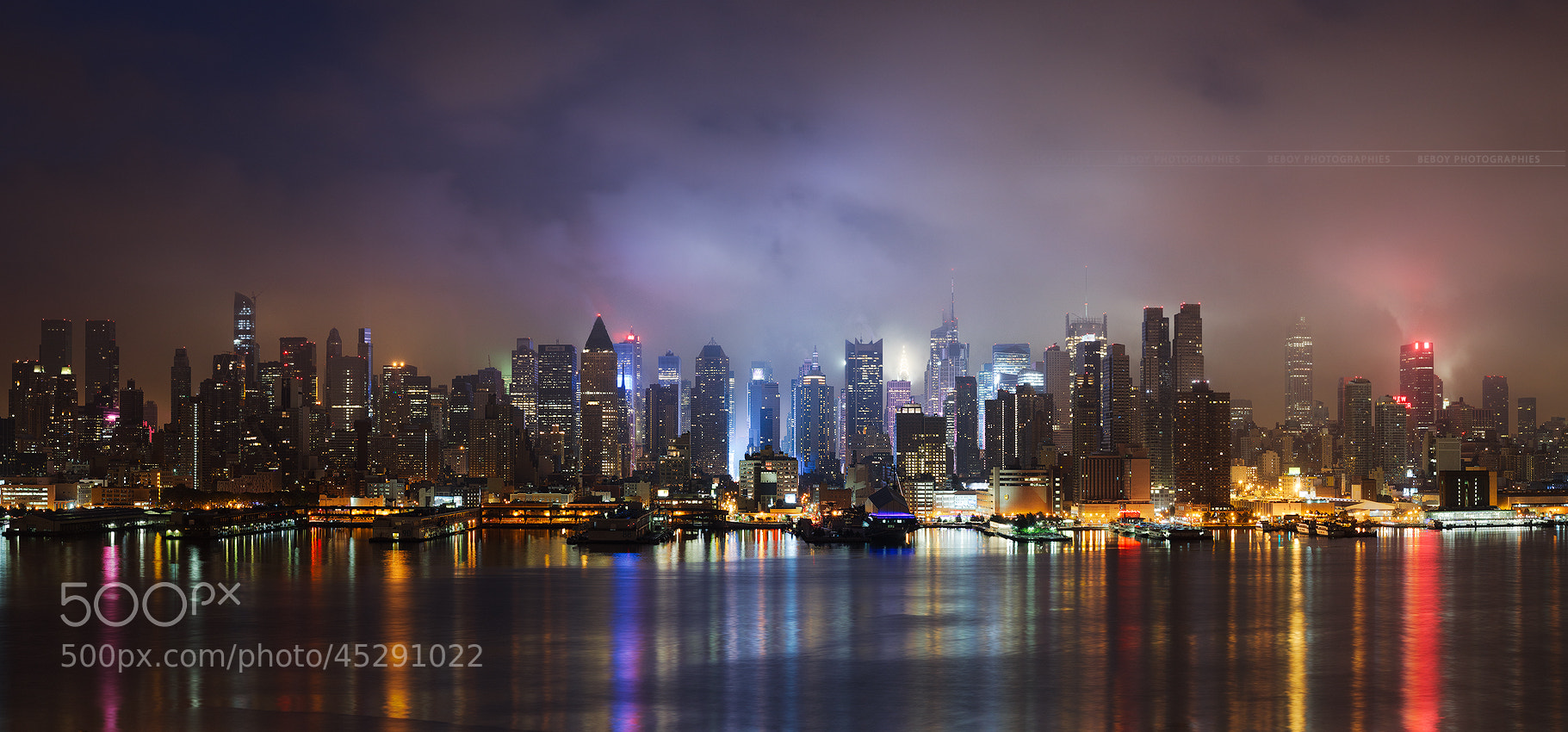 Photograph Light Symphony, New-York City by Beboy Photographies on 500px
