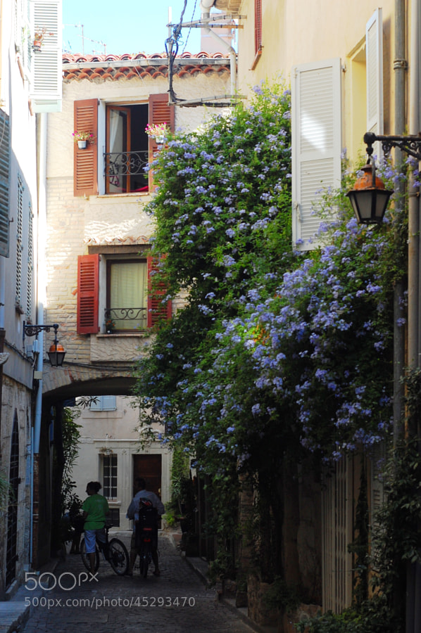 Flowery street, Antibes by Anna Stevenson on 500px.com