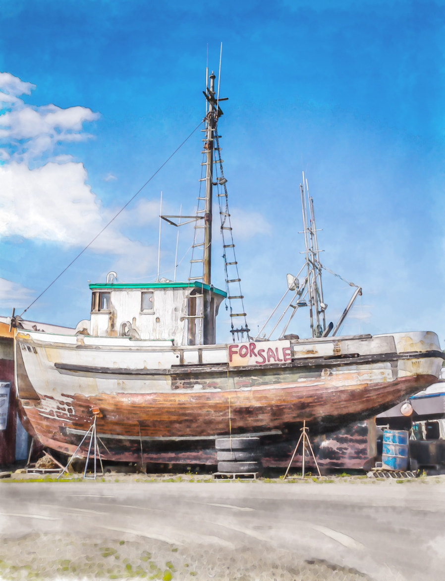 Photograph Seaworthy, Slightly Used by Pandyce McCluer on 500px