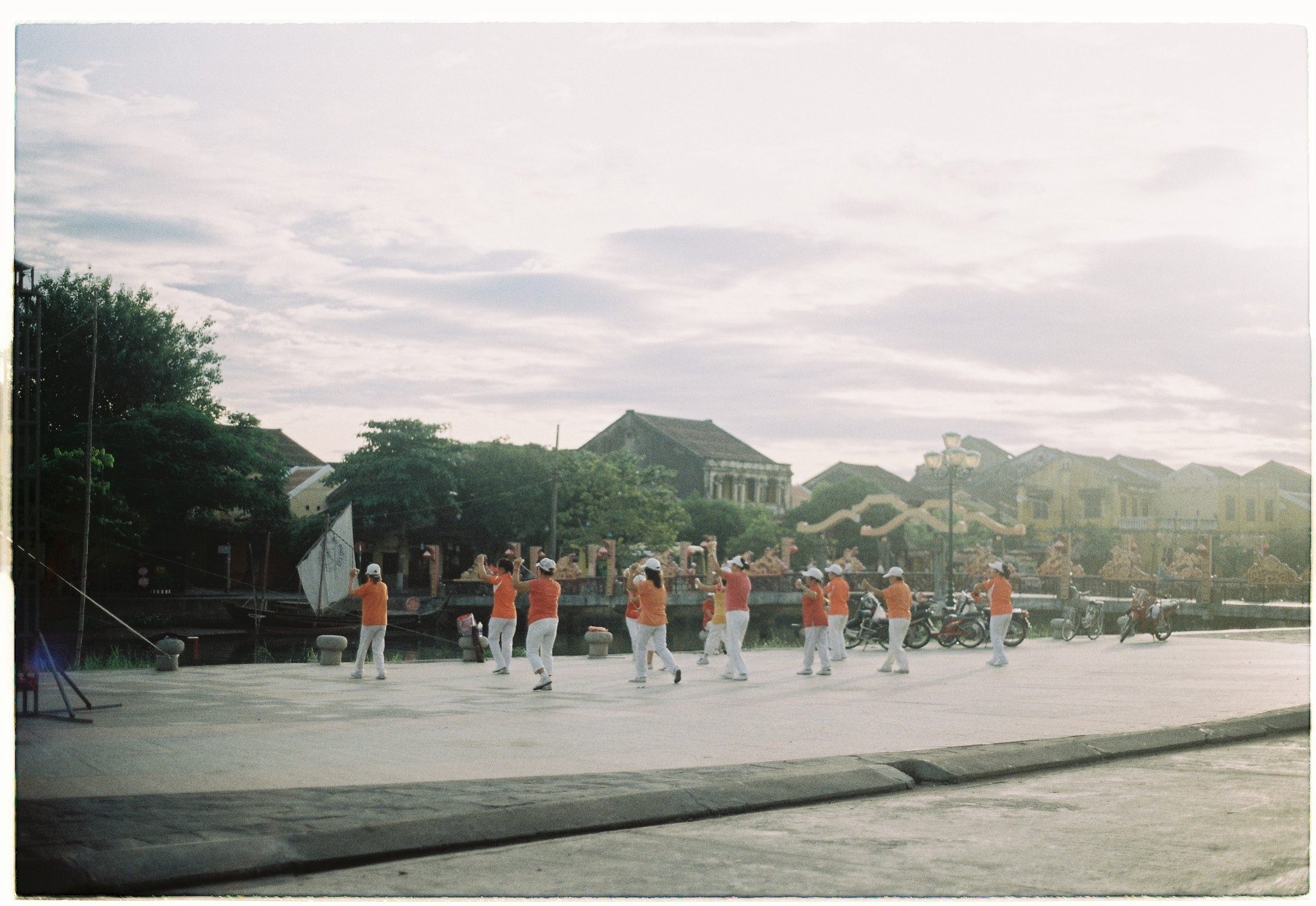 Photograph Morning exercise in Hoi An by Vân Finger on 500px