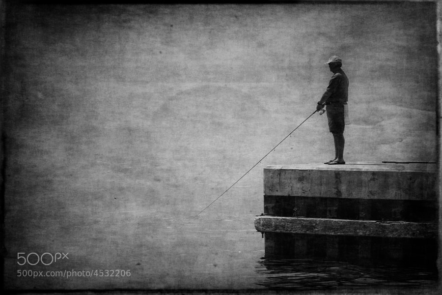 Photograph Lonely Fisher by Plamen Valchev on 500px