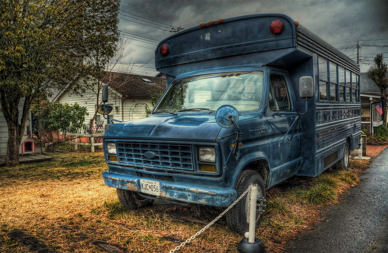 Photograph Old School Bus by lemona mama on 500px