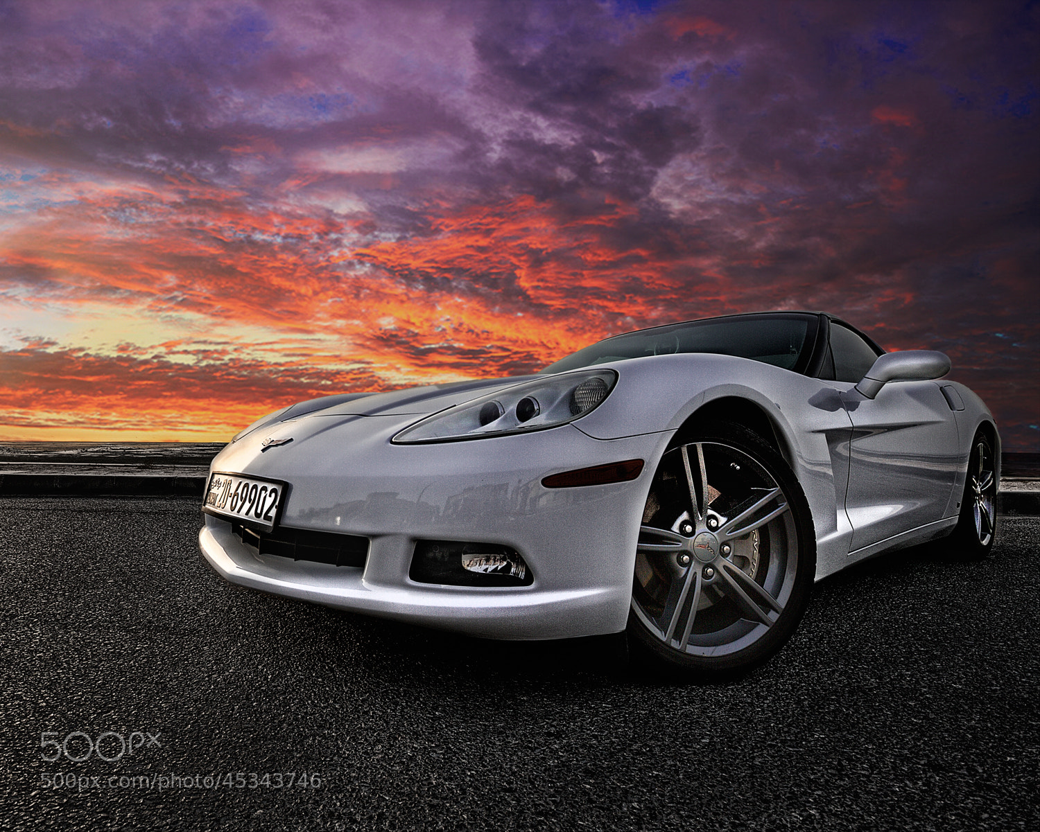 Photograph Corvette by bader Al Hattab on 500px