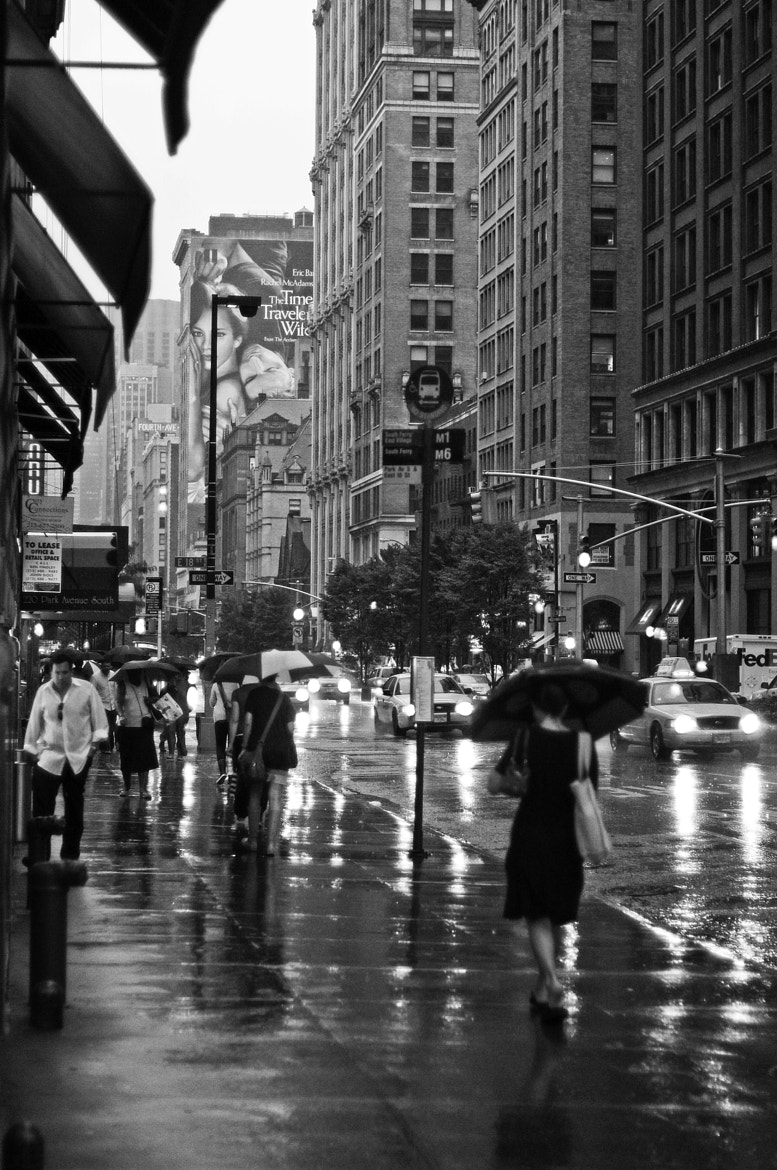 Photograph Rainy Day at New York City by Leandro Discaciate on 500px