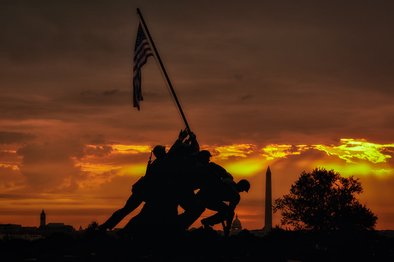 Photograph Iwo Jima Monument by Dave Wright on 500px