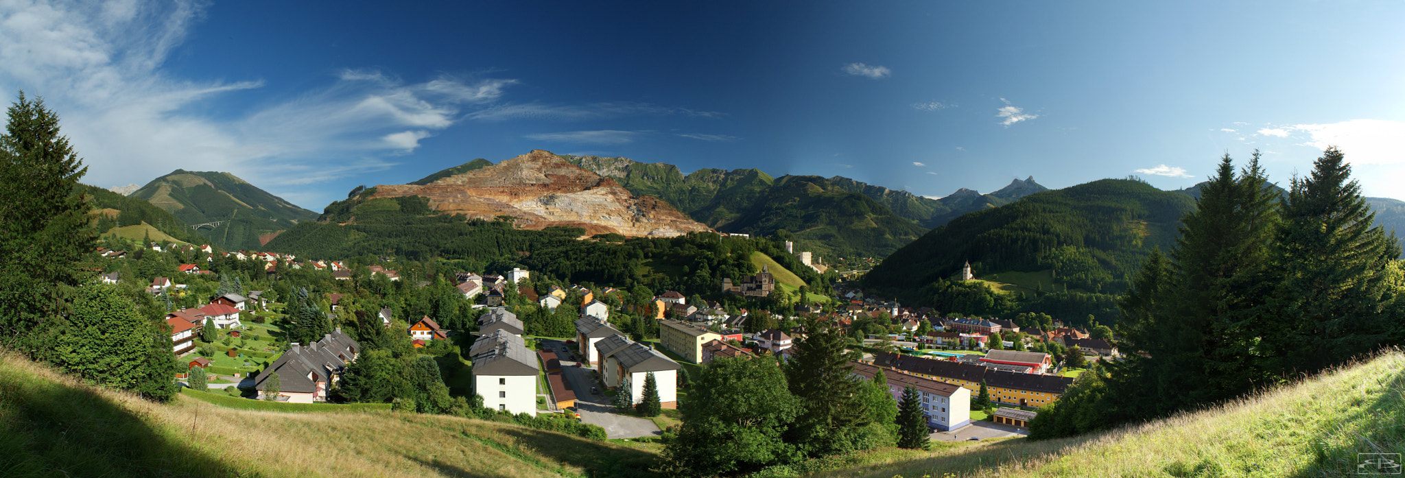 Photograph Panorama over Eisenerz by Rene BERNHARD on 500px