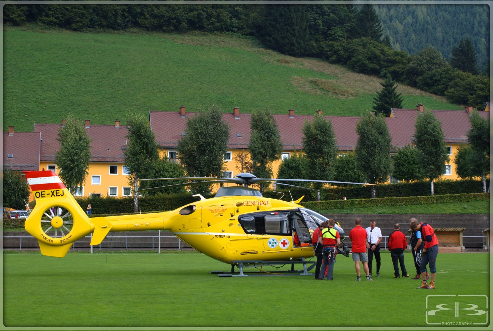 Photograph Rescue Helicopter by Rene BERNHARD on 500px