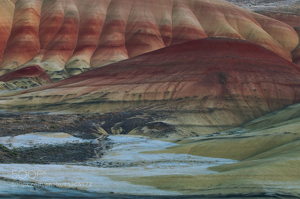 Photograph The Painted Hills by Michael Wewer on 500px