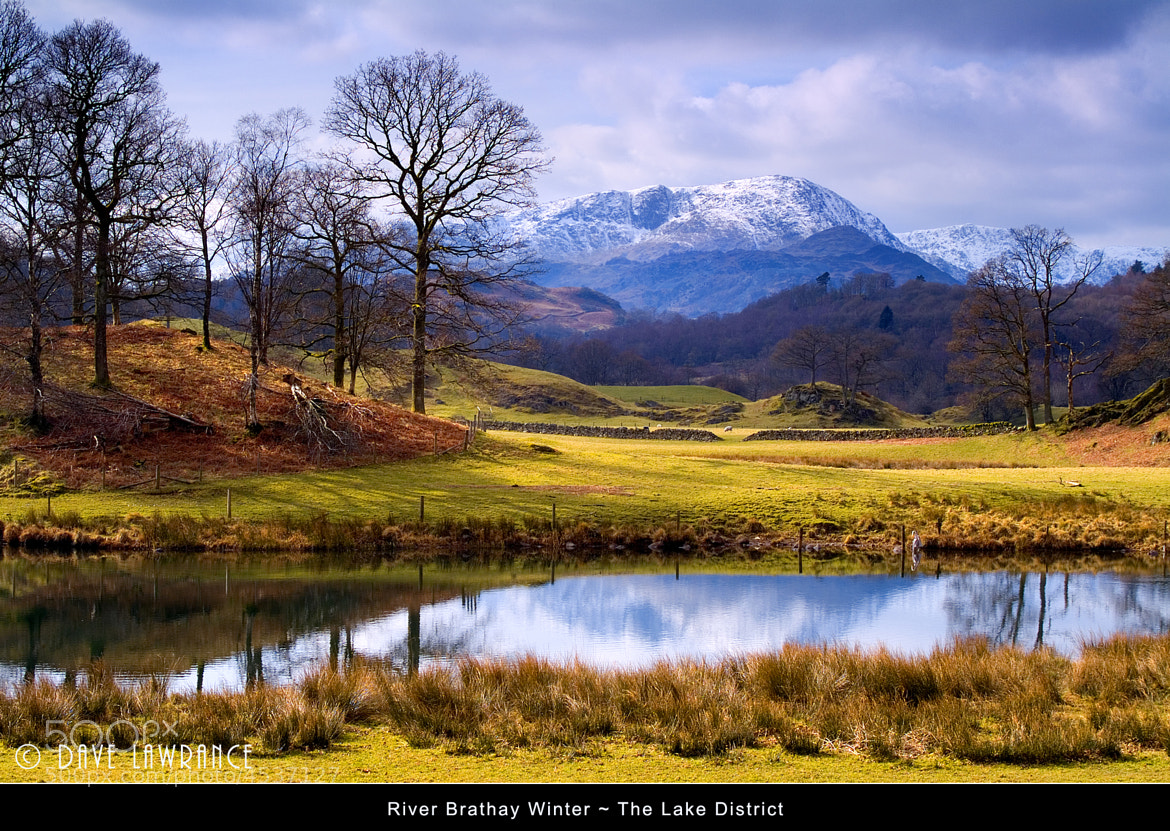 Photograph Brathay Winter by Dave Lawrance on 500px