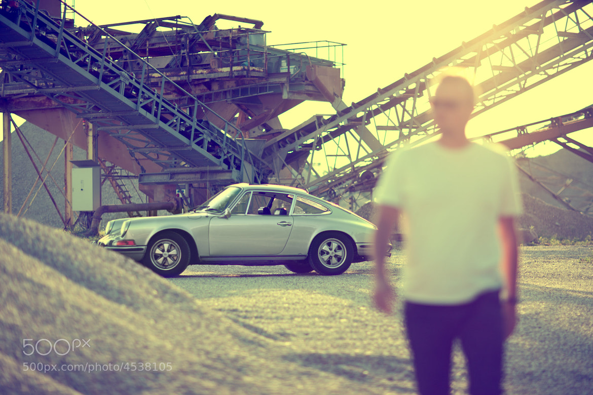 Photograph mario with his porsche 16 by walter luttenberger on 500px