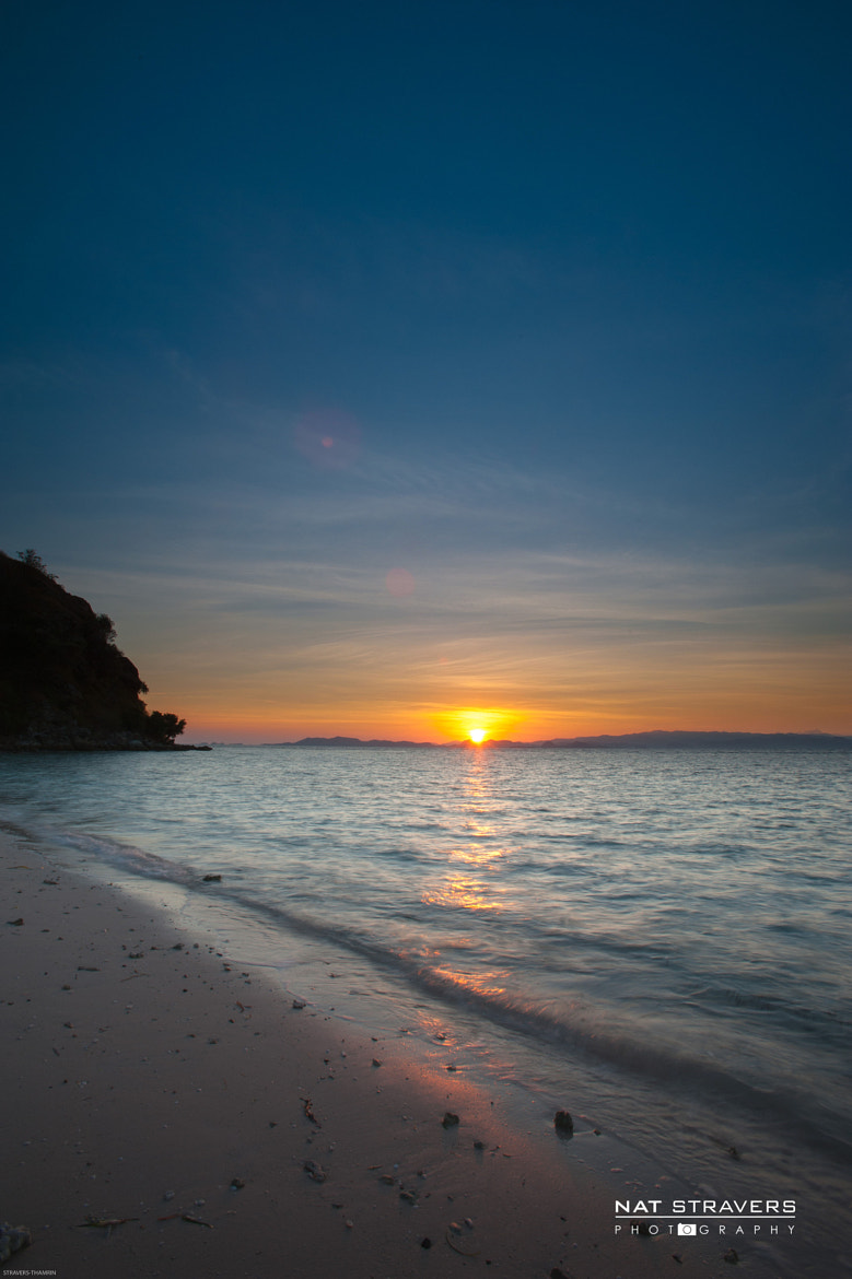 Photograph sunrise from Kanawa island - Flores by Nathalie Stravers on 500px