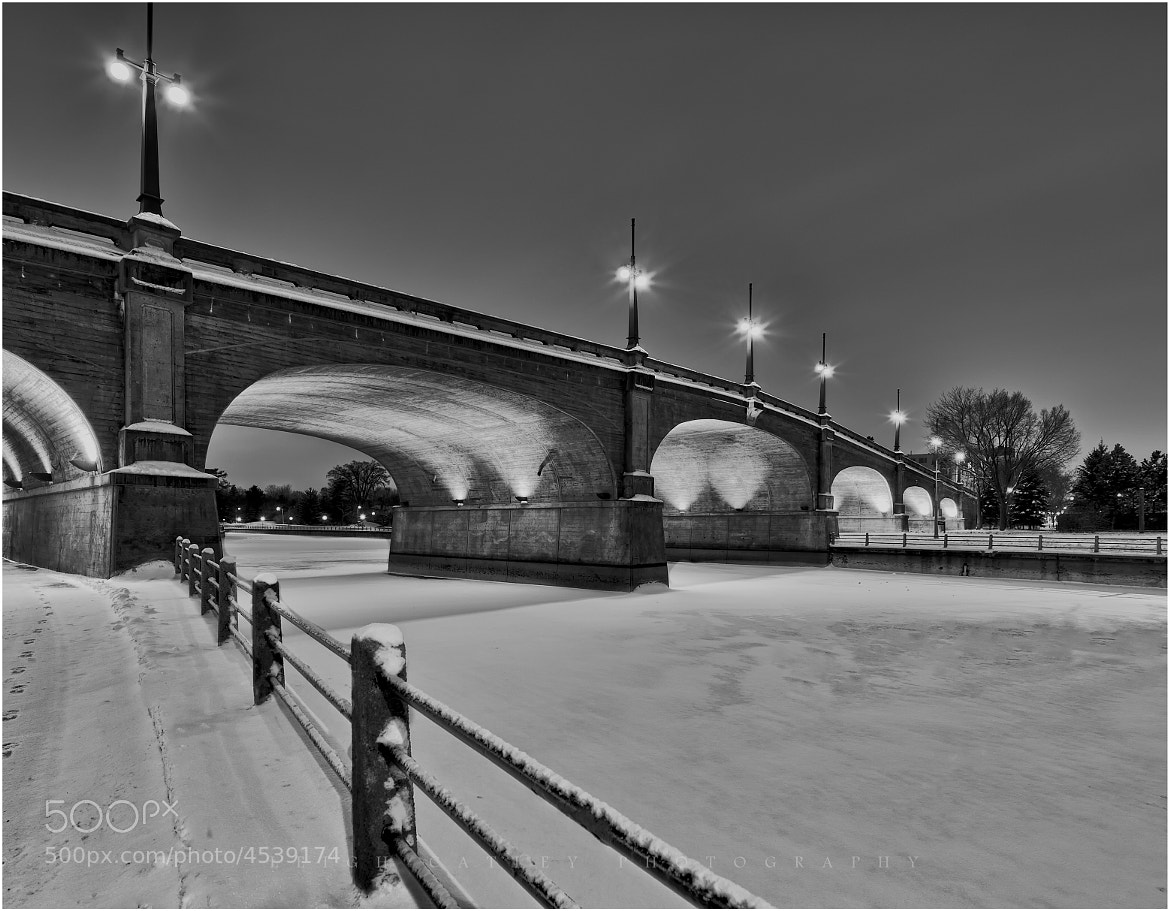 Photograph Bank Street Bridge  the Rideau Canal in Ottawa by Leigh Catley on 500px