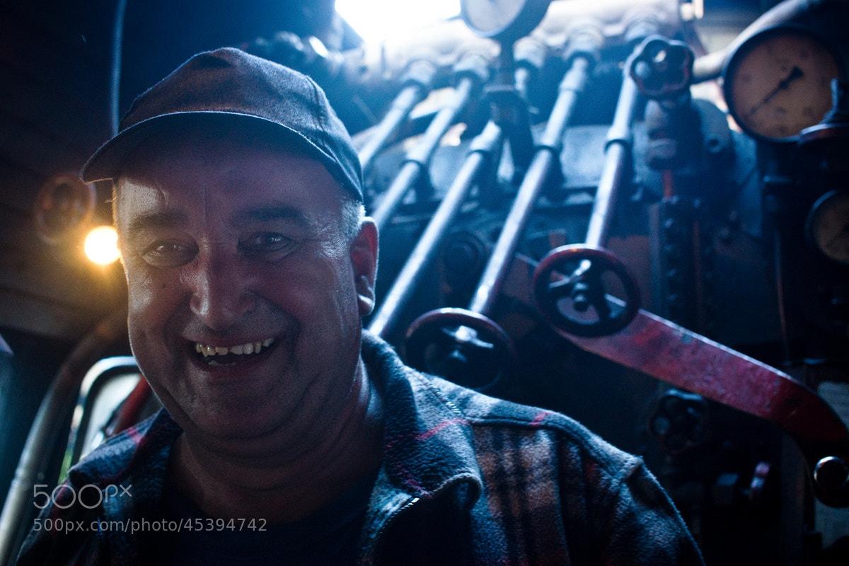 Photograph man of steel by Artur Stefanowski on 500px