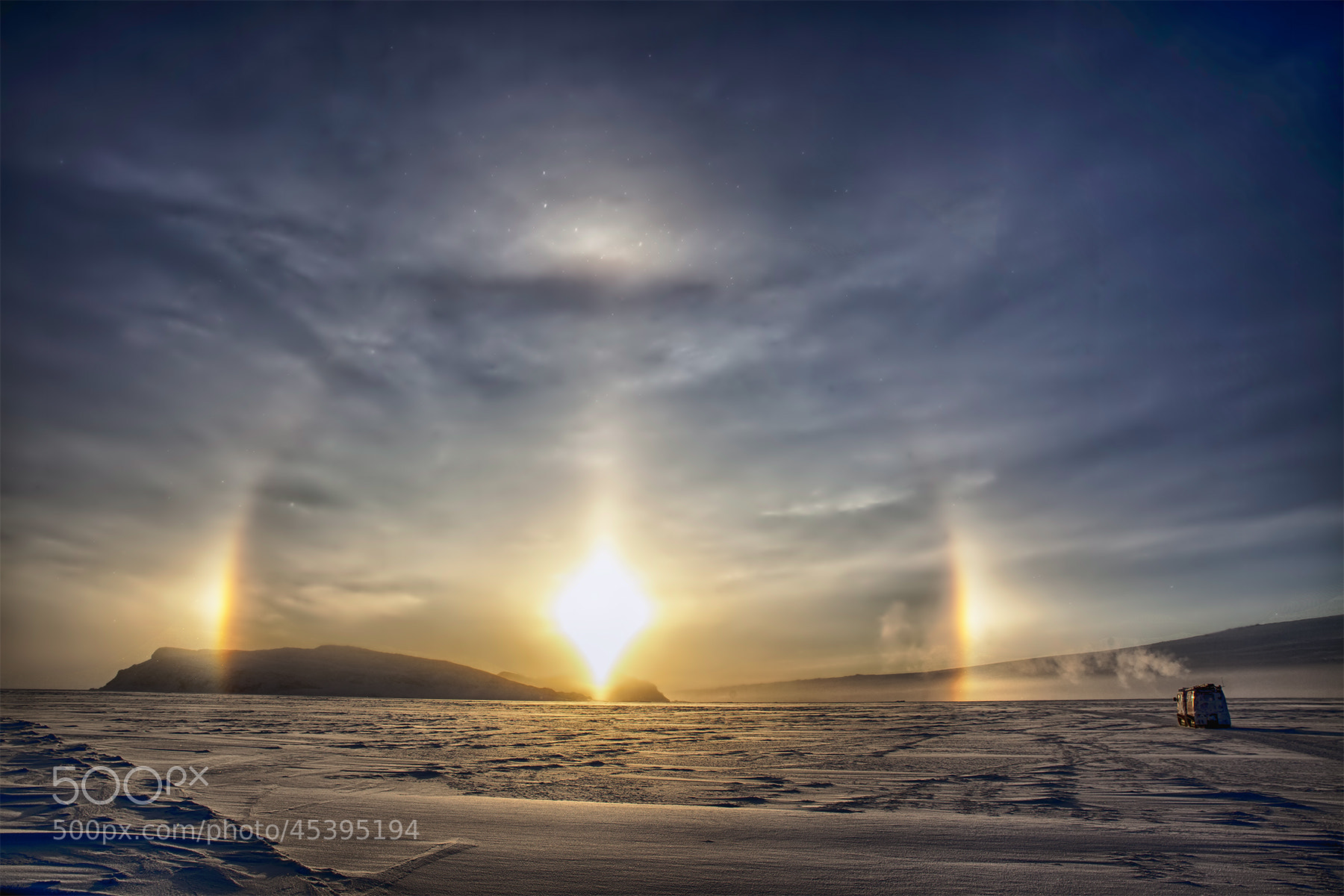 Photograph Sun Dogs on Ice 2 by Deven Stross on 500px