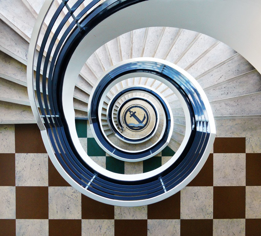 Photograph Anchor Staircase by Jo Datou on 500px