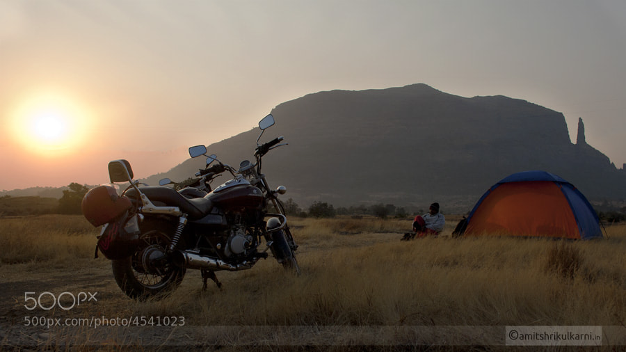Photograph Camping.... by Amit Kulkarni on 500px