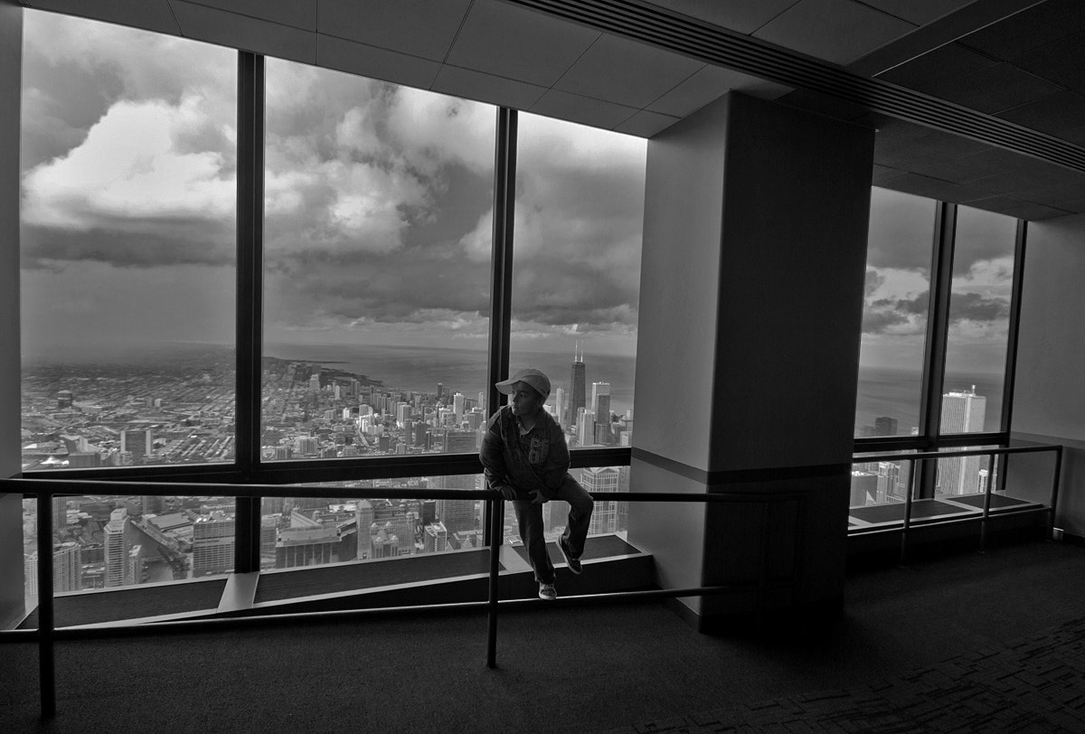 Photograph willis tower , chicago 2011  by Arijit Talukder on 500px