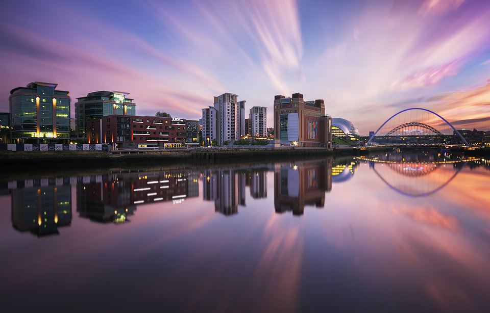 Photograph The River Tyne by Jimmy Mcintyre on 500px