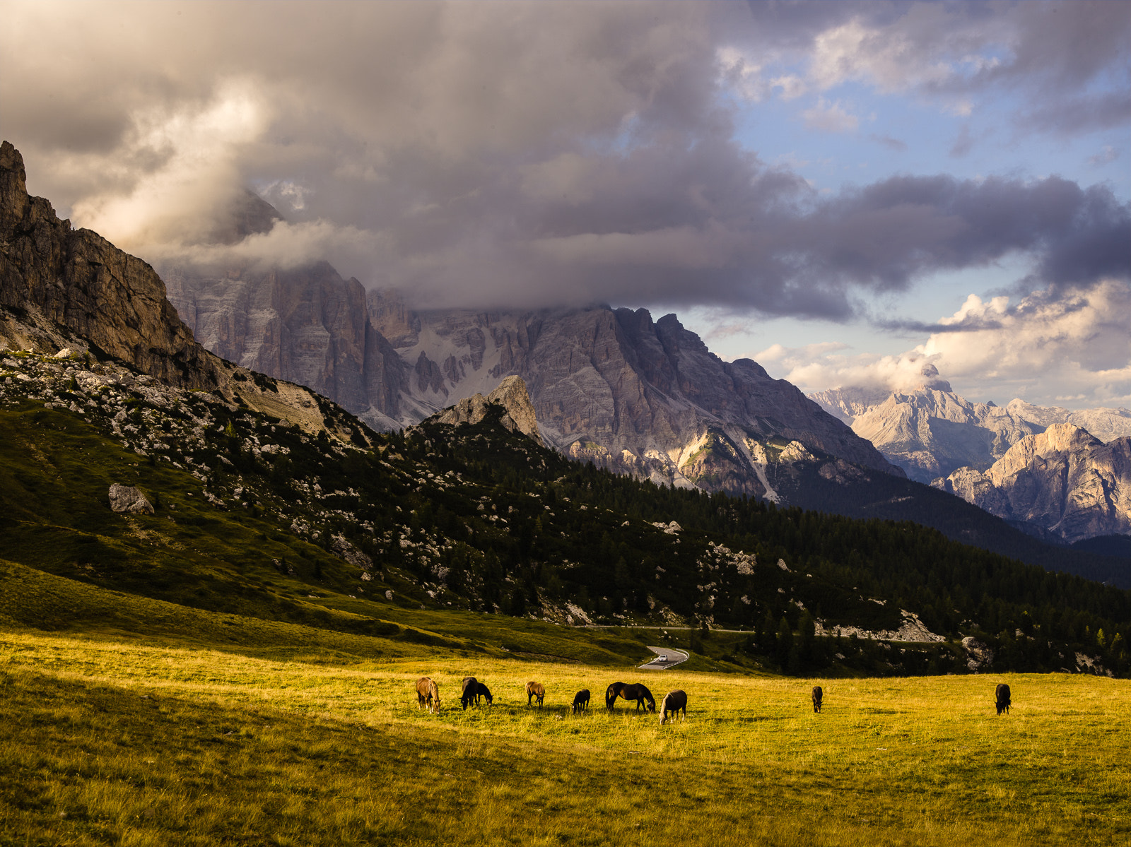 Photograph Landscape at Passo Giau by Hans Kruse on 500px