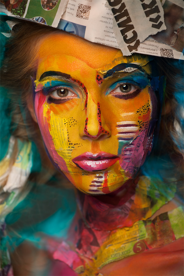 Photograph Patchwork face by Alexander Khokhlov on 500px