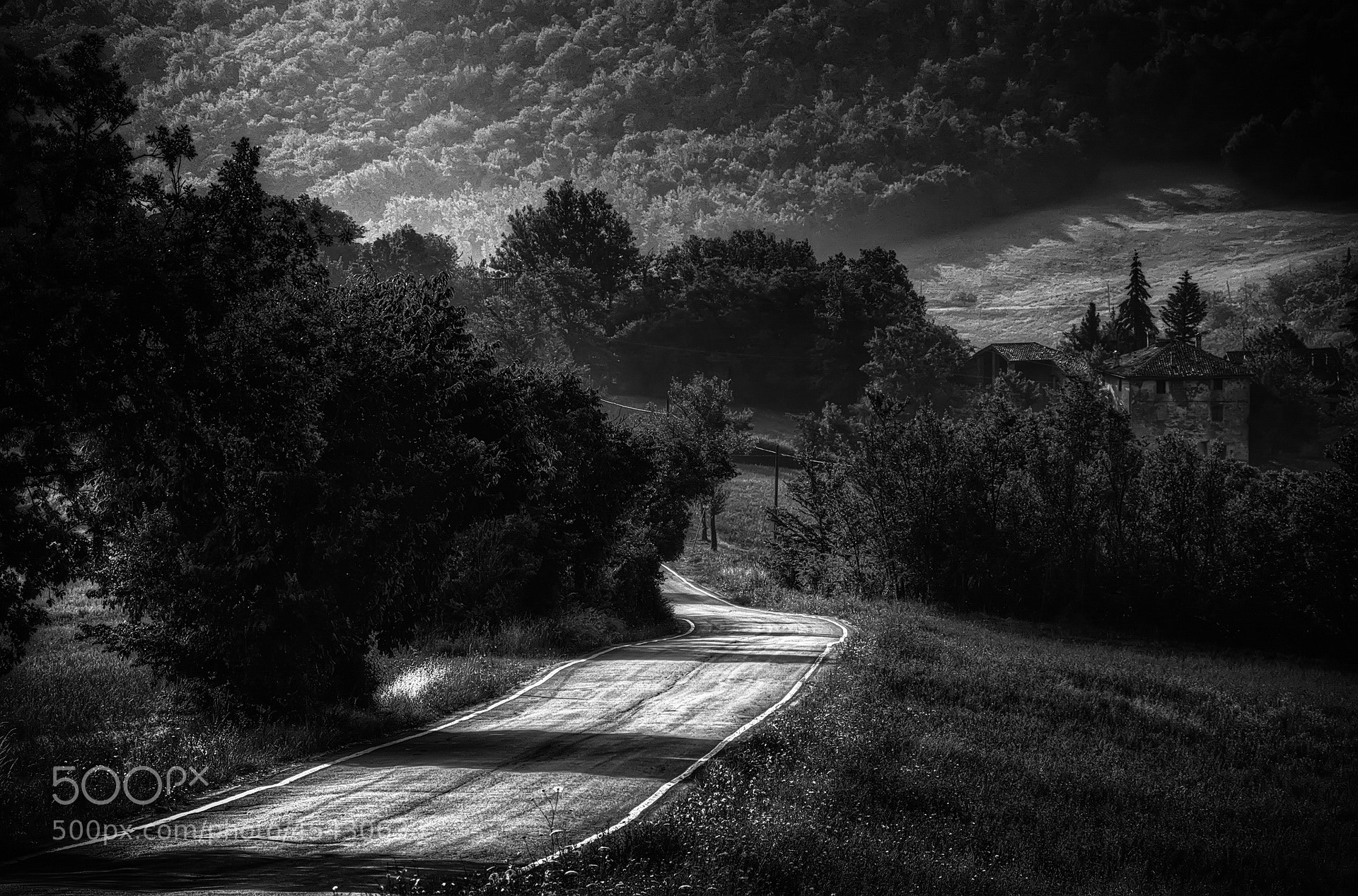 Photograph Road to Tole' by Franco  on 500px