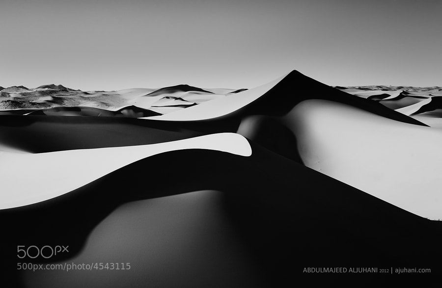 Photograph Dancing Dunes by Abdulmajeed  Aljuhani on 500px