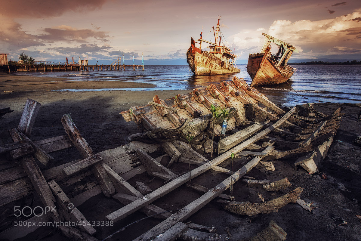 Photograph Ships Graveyard by Esmar Abdul on 500px