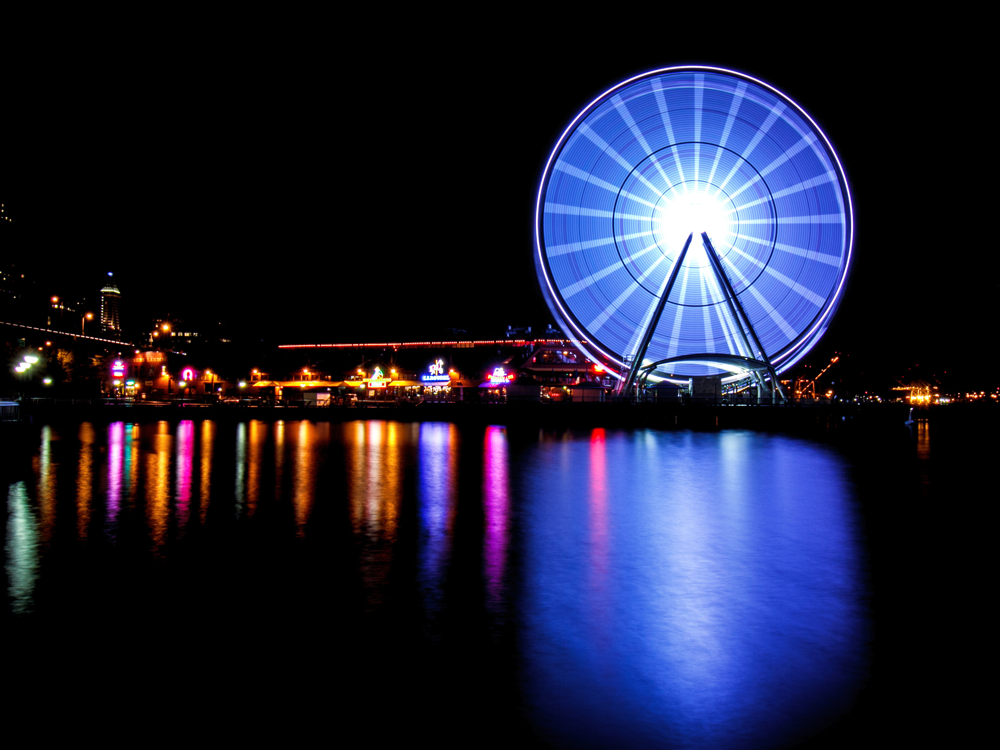 Photograph The Great Wheel at Night by Jason Groepper on 500px