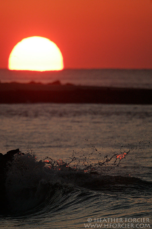Photograph New Jersey Sunset by Heather Forcier on 500px
