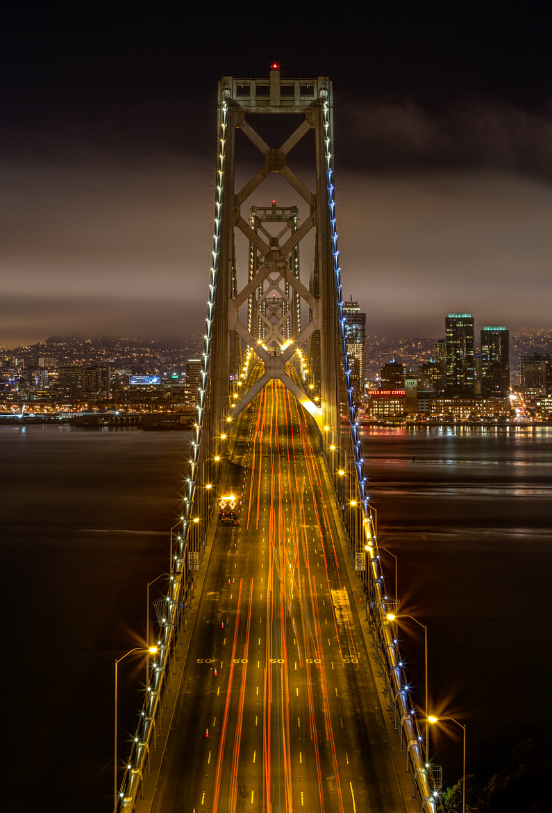 Photograph Bay Bridge Overlook by Tristan O'Tierney on 500px