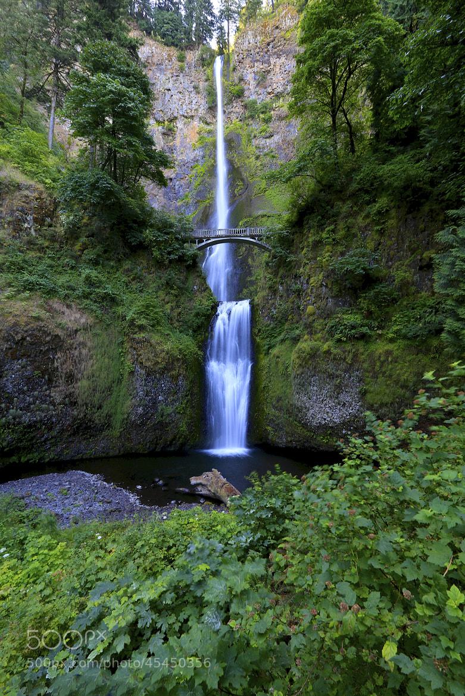 Photograph Multnomah Falls by Joseph Urgo on 500px