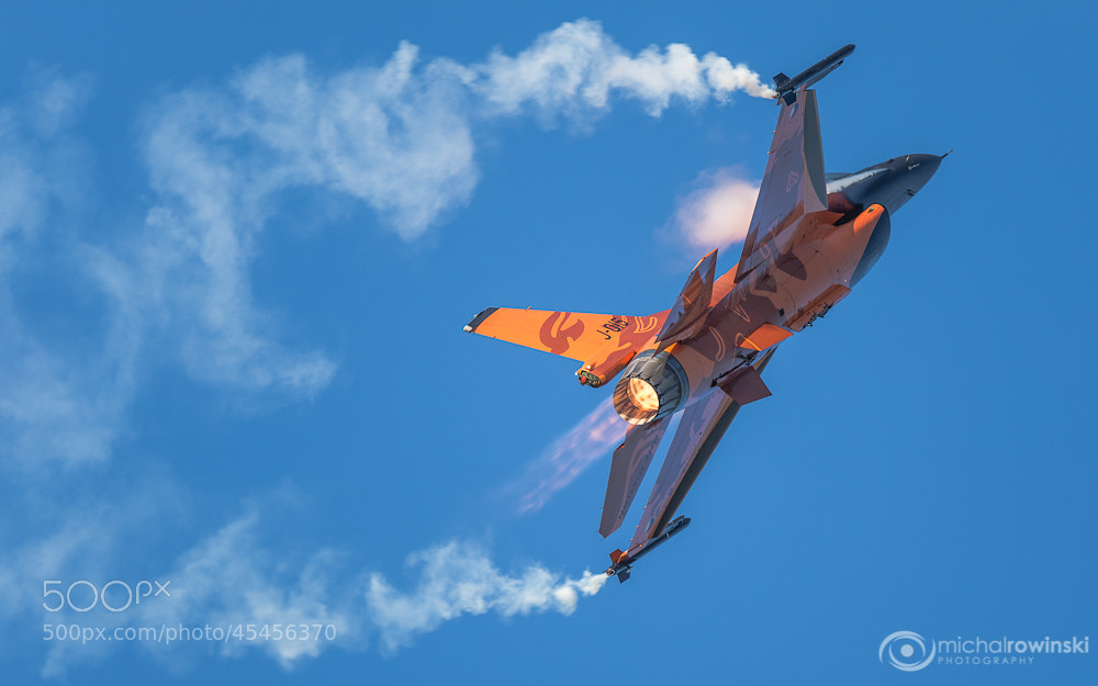 Photograph F-16 by Michal Rowinski on 500px