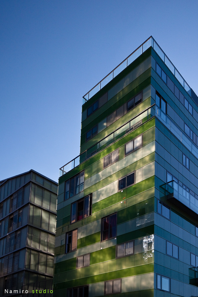 Photograph Green Building by Romain Rousset on 500px