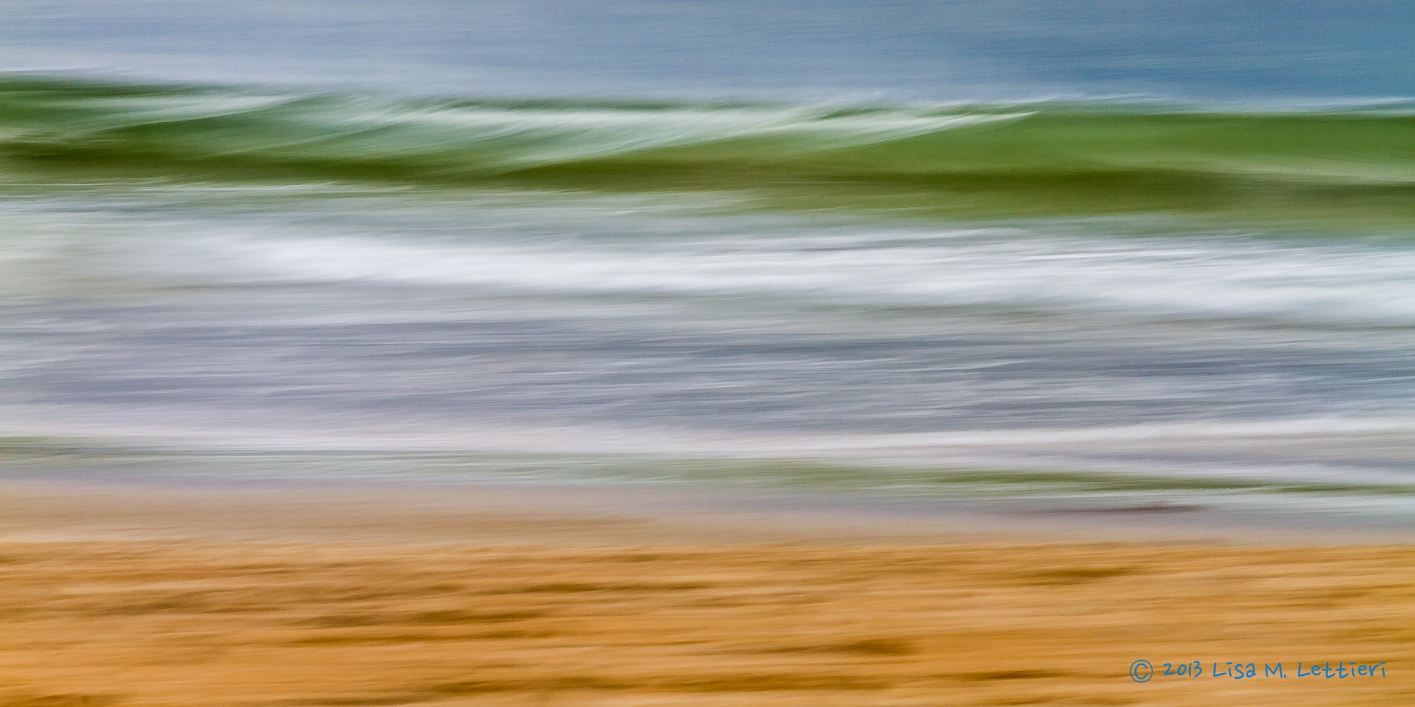 Photograph Panning the Surf by Lisa Lettieri on 500px