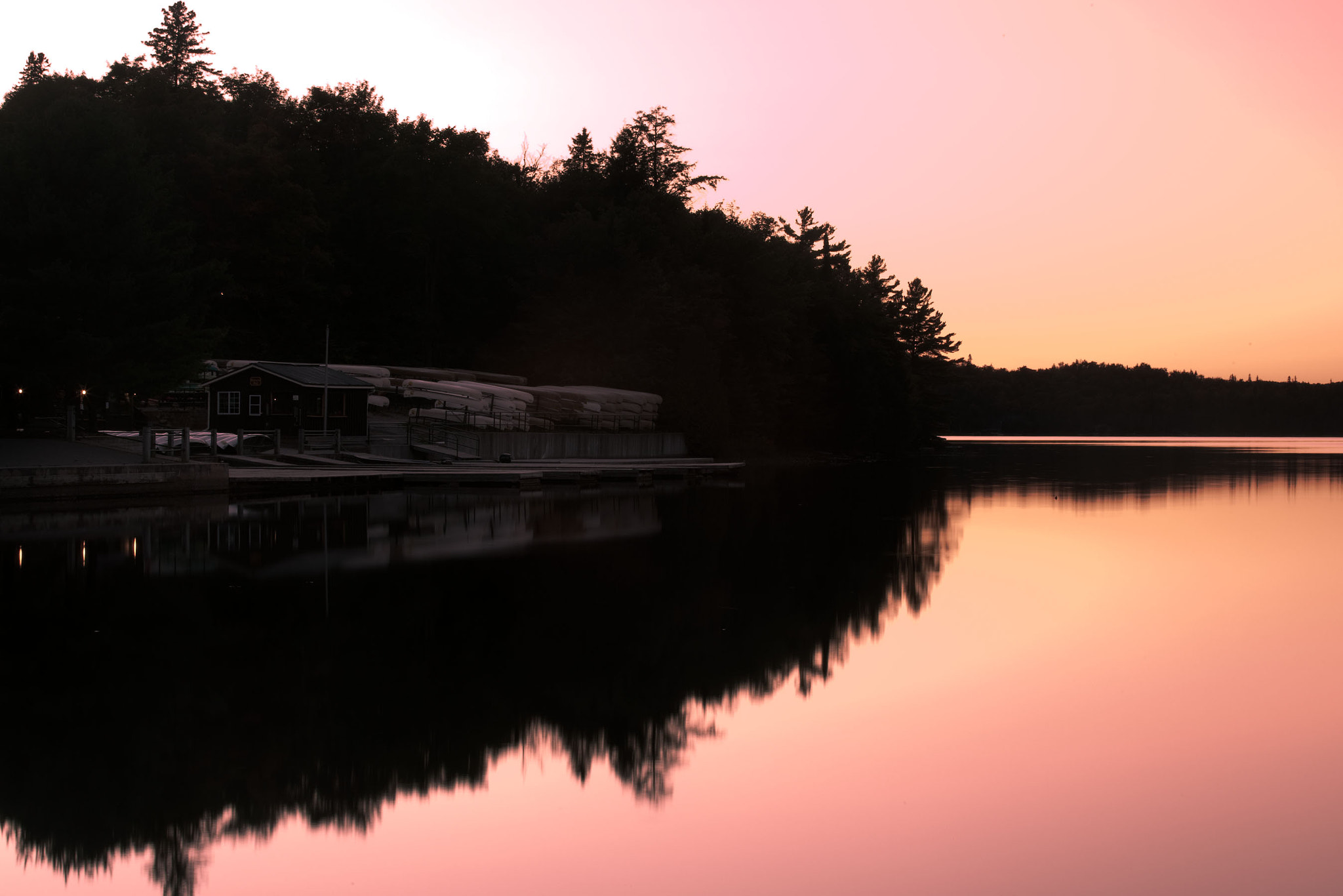 Photograph Sundown at Opeongo by Gustavo Osterling on 500px