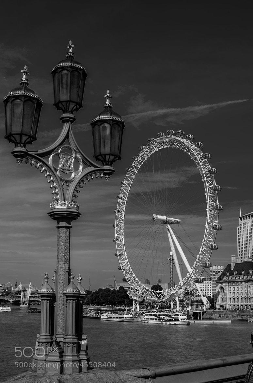 Photograph London Eye by Lee Ashman on 500px