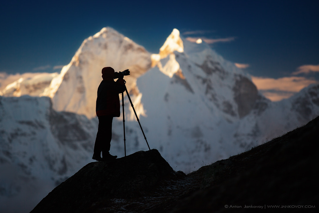 Photograph Photographer and Mountains by Anton Jankovoy on 500px