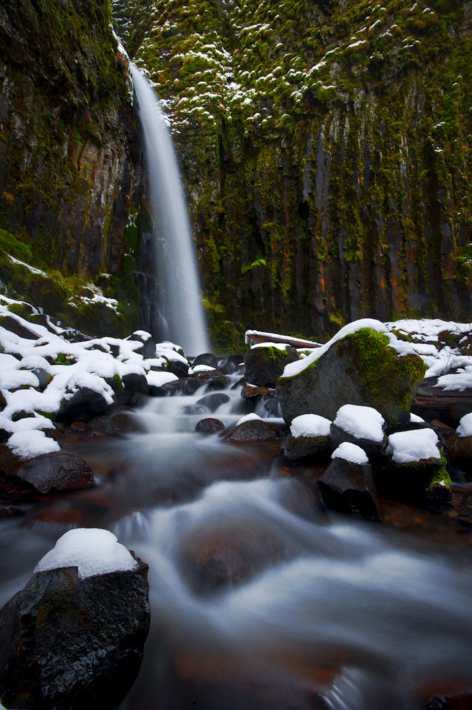 Photograph Wintry Falls by Alex Mody on 500px