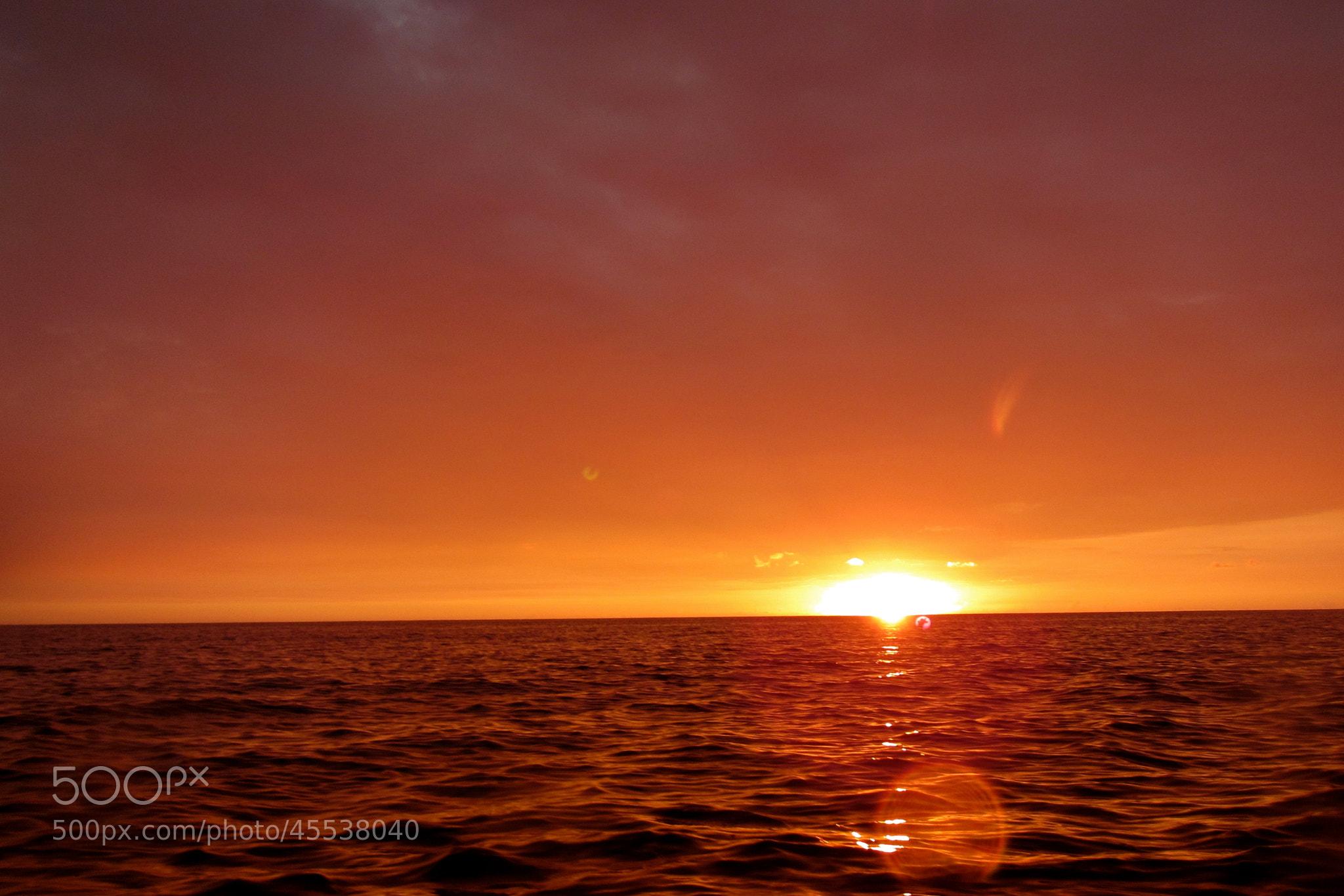 Photograph kayaking at sunset by Vishnu MR on 500px