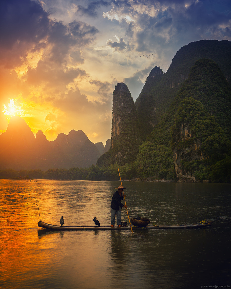 Photograph Life on the Lijiang by peter stewart on 500px