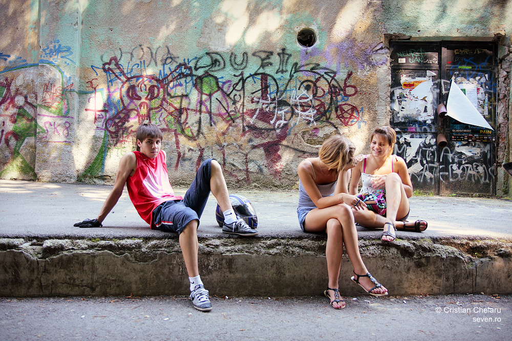 Photograph Young people from Brasov by Cristian Chelaru on 500px
