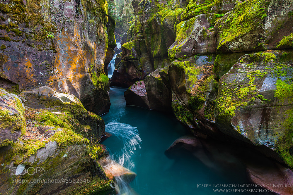Photograph Emerald Gorge by Joseph Rossbach on 500px