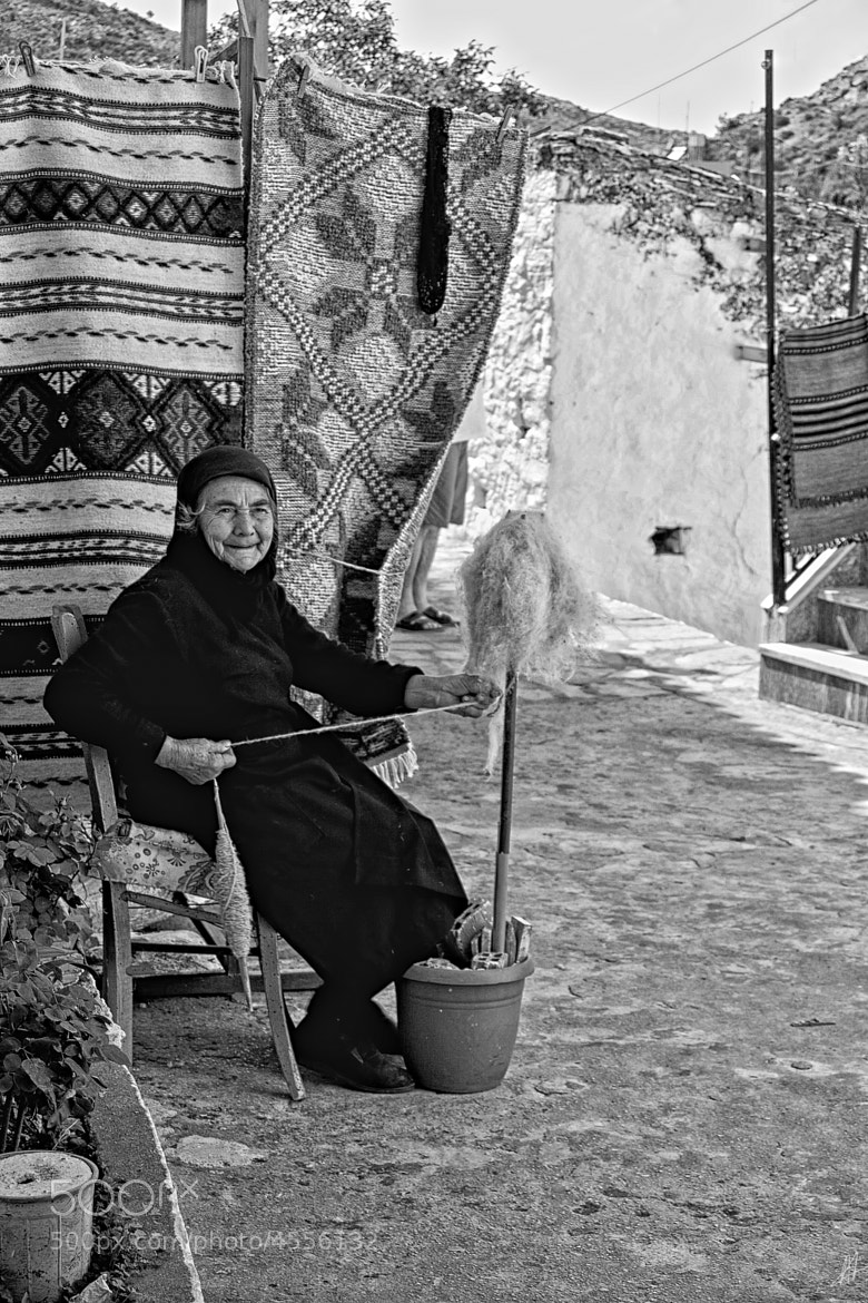 Photograph elderly woman by Antonis  Androulakis on 500px