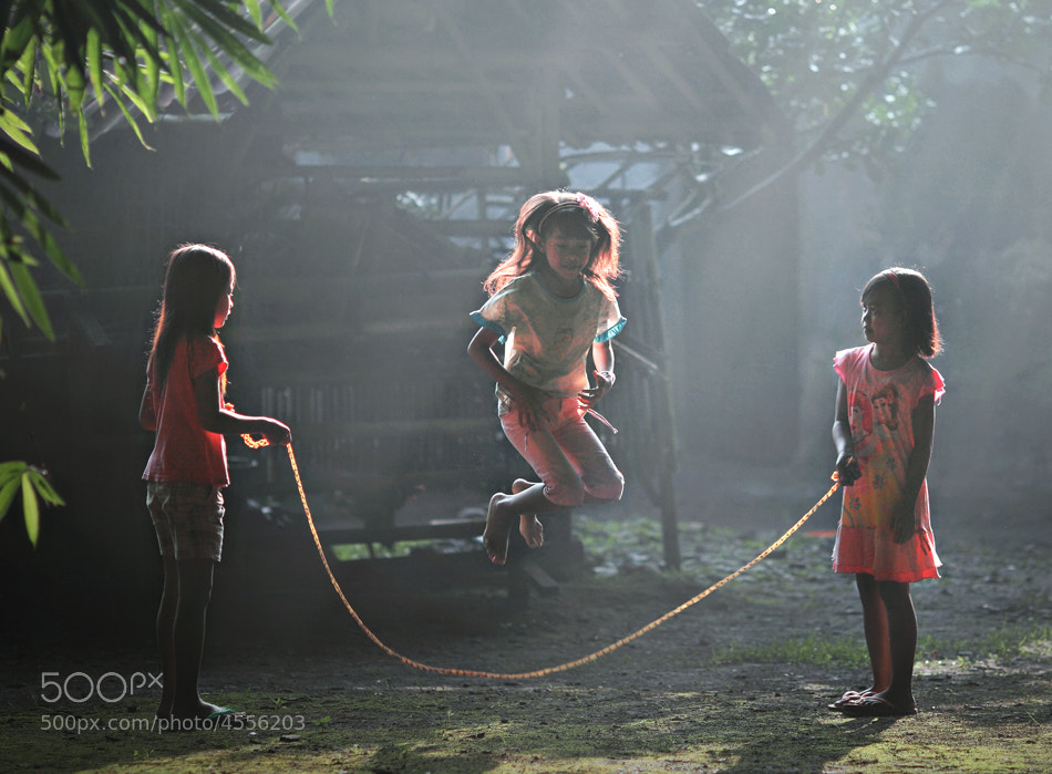 Photograph skipping rope by firdaus musthafa on 500px
